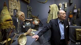Subasta de objetos de los Hopi