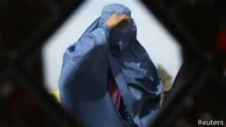 صورة أرشيفية لامرأة أفغانية