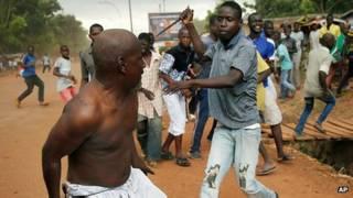 عنف في افريقيا الوسطى