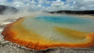 vulcão yellowstone | AFP