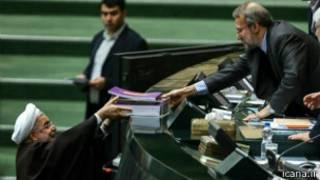 علی لاریجانی - حسن روحانی