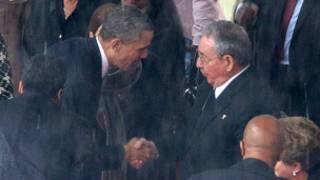 كاسترو واوباما