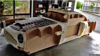 Prototipo de Aston Martin en impresora 3D
