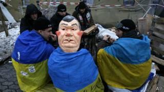 Protestas contra Yanukovich en Ucrania