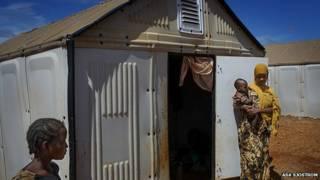शरणार्थी सौर ऊर्जा झोपड़ी