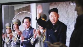 Chang Song-thaek y Kim Jong-un