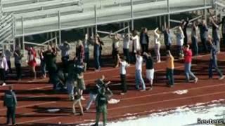 Ученики школы в городке Сентенниал, штат Колорадо