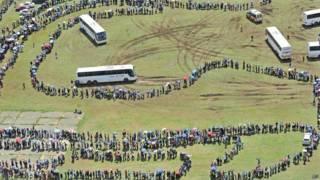 Enterro de Nelson Mandela   Crédito: AP