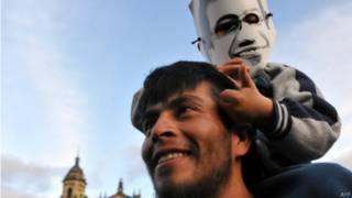 Marcha de apoyo al alcalde de Bogotá, Gustavo Petro