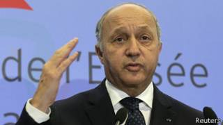 Французский министр иностранных дел Лоран Фабиус