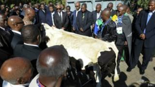 похороны Манделы