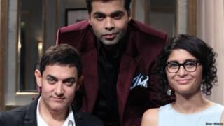 आमिर ख़ान, किरण राव, करण जौहर