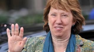 Кэтрин Эштон, верховный представитель ЕС по иностранным делам