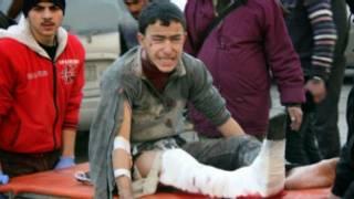 Abakomerekeye mu gitero mu mujyi wa Aleppo