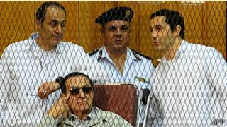 Mubarak n'abahungu be bashinjwa ibyaha bya ruswa