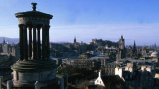 苏格兰爱丁堡远眺