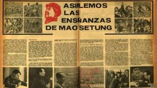 Periódico sobre maoismo