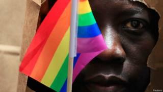 Activista a favor de la homosexualidad en Uganda