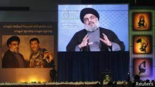 Hassan Nasrallah en diciembre de 2013