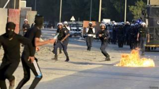 Bahrein protestas