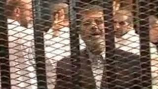 Moh'd Morsi akitokeza mahakamani