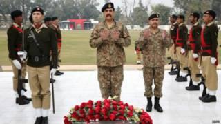 राहील शरीफ़, पाकिस्तान, सेनाध्यक्ष