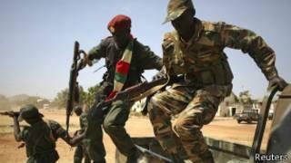 Повстанцы в Южном Судане