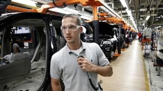 Industria automotriz. Foto AP.