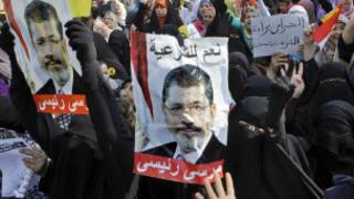 Abanywanyi ba Muslim Brotherhood mu myiyerekano