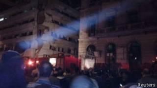 मिस्र में धमाका
