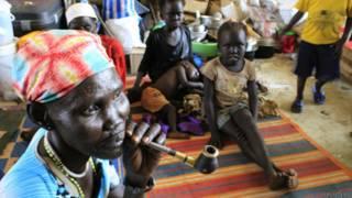 Refugiados no Sudão do Sul. Foto: Reuters