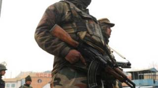 भारतीय कश्मीर में सैनिक