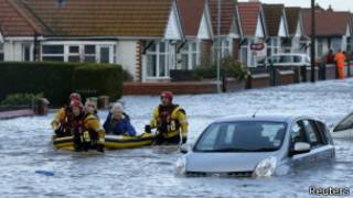 英格蘭南部洪水