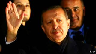 Эрдоган, премьер Турции