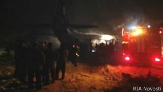 Крушение самолета под Иркутском