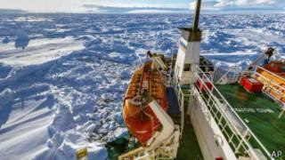 Вид Антарктиды