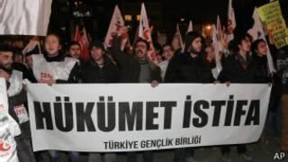 Turquía: protestas contra el gobierno por corrupción