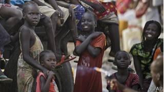 दक्षिण सुडानका बालबालिका