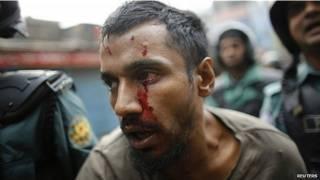 बांग्लादेश में हिंसा