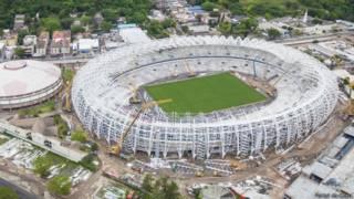 Obras no Beira-Rio (Foto: Portal da Copa)