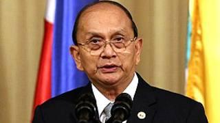 Burma President U Thein Sein
