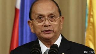 Burmese President