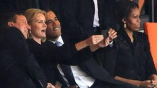 """""""Селфі"""" Обами на похоронах Мандели викликав хвилю критики та обговорень"""