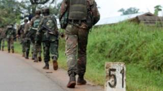 Abasirikare ba Kongo baja ku rugamba muri Kivu ya ruguru