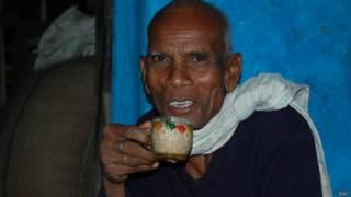शिवतराई गाँव के बासमती किसान झाड़ूराम मरावी