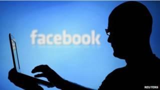 Страница Facebook на смартфоне