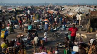 मध्य अफ्रिकी गणतन्त्रका शरणार्थीहरु