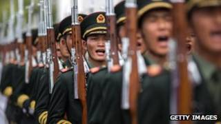 China now spends more than neighbouring Japan, South Korea, Taiwan and Vietnam combined