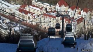 Centro de esquí de Krasnaya Polyana, cerca de Sochi