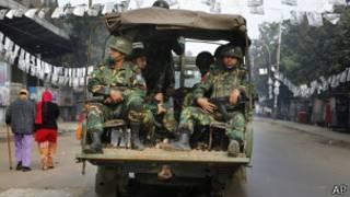 سربازان ارتش بنگلادش